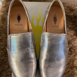 Silver Volatile Loafers